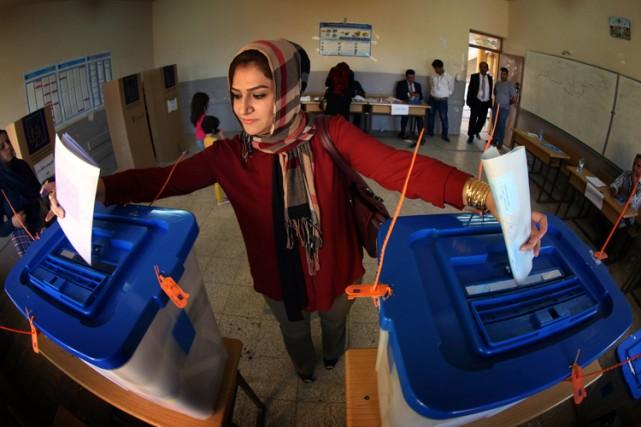 Les bureaux de vote, ouverts de 07h00 à... (Photo: AFP)