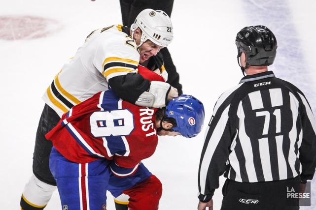 S'il est vrai que les Bruins détestent viscéralement... (Photo: Olivier Pontbriand, archives La Presse)