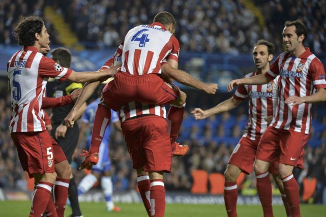 L'Atletico Madrid a dominé Chelsea et remporté une victoire de 3-1 sur la... (Photo: Reuters)