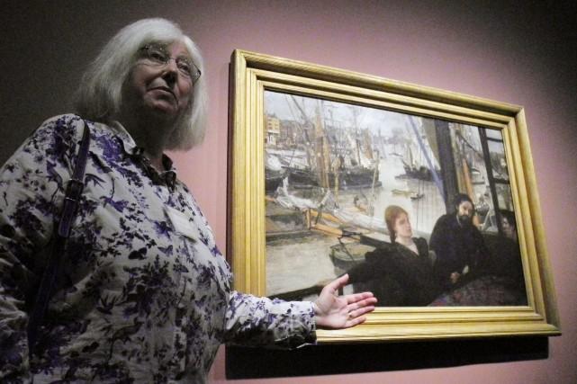 L'artiste, grand voyageur, est le témoin pendant les... (Photo Robert MacPherson, AFP)