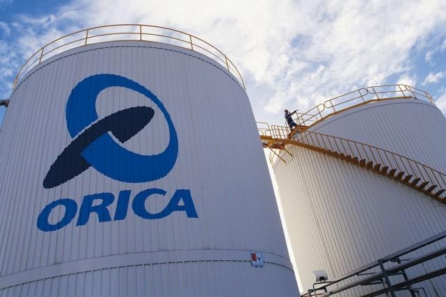 Orica est le plus important fournisseur d'explosifs commerciaux... (Photo Archives Bloomberg News)