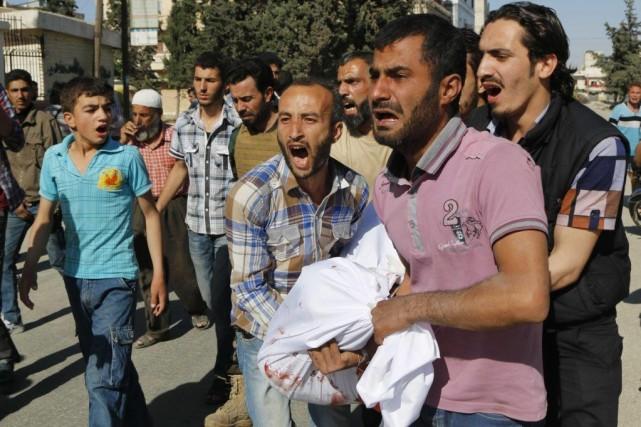 À Alep, la deuxième ville du pays dévasté... (Photo Hosam Katan, Reuters)