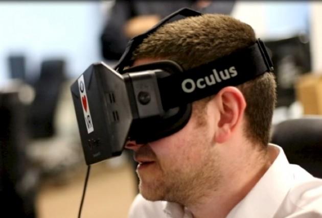 Les lunettes de réalité virtuelle Oculus Rift seraient... (Photo tirée de Whiteguyswearinoculusrifts.tumblr.com)