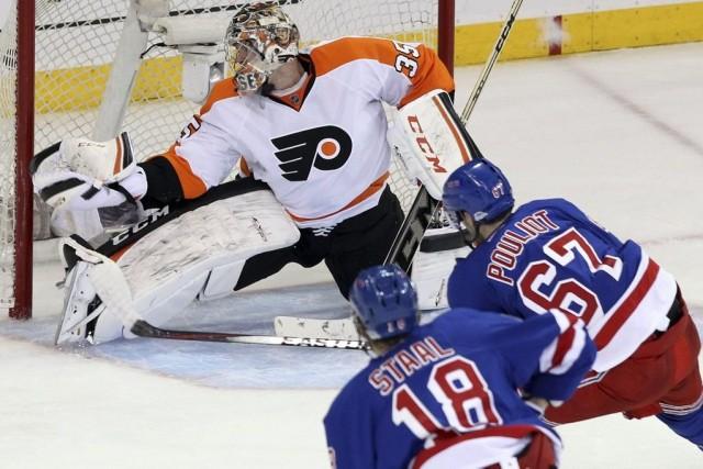 Les Flyers de Philadelphie ont transformé le pire début de saison de leur... (Photo Adam Hunger, archives USA Today)