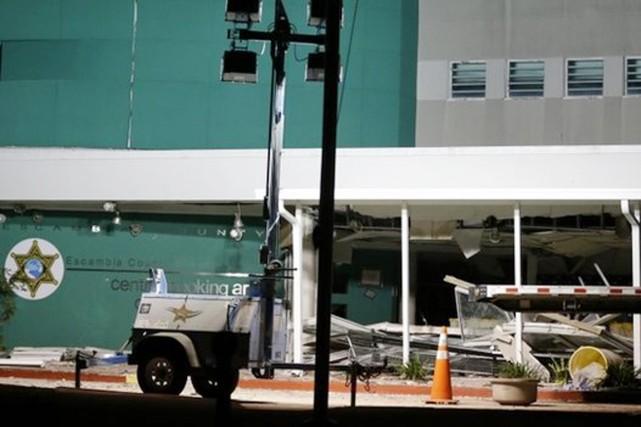 L'explosion s'est produite vers 23h à l'établissement de... (PHOTO AP)
