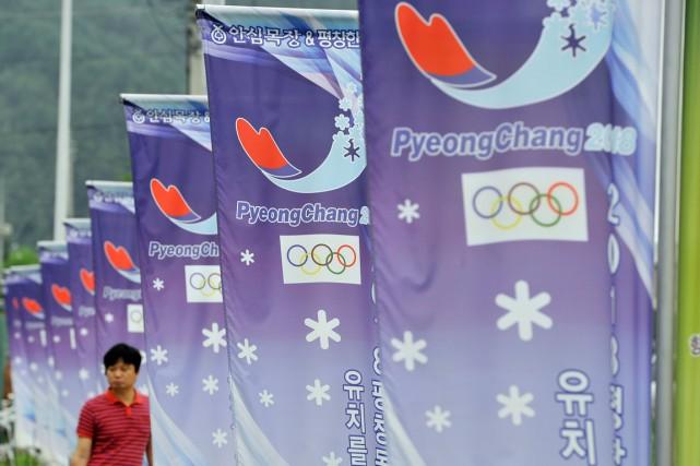 La ville de Pyeongchang, en Corée du Sud,... (PHOTO JUNG YEON-JE, ARCHIVES AFP)