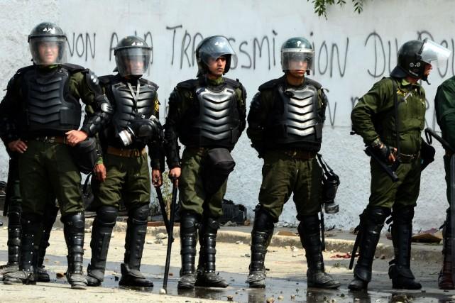 L'attaque, menée deux jours après la présidentielle du... (Photo FAROUK BATICHE, AFP)