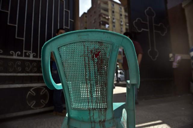 D'une manière générale, les attaques contre les Coptes,... (Photo KHALED DESOUKI, AFP)