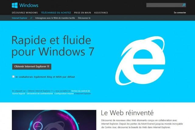 Le correctif pour les versions 6 à 11... (Photo fournie par Microsoft)