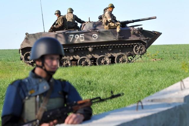 Kiev avait annoncé mercredi avoir mis ses forces... (Photo GENYA SAVILOV, AFP)