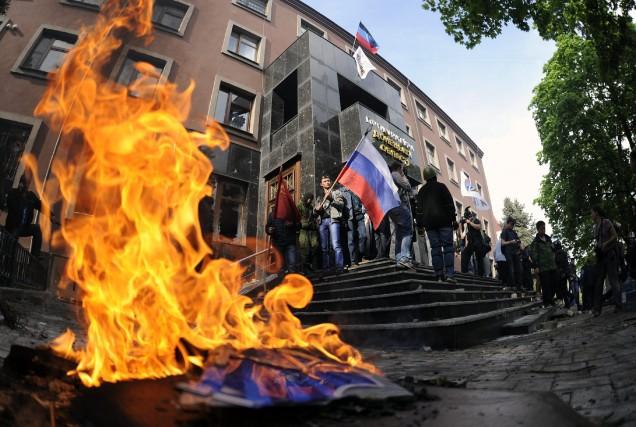 Sans légitimité autre que celle de la rue... (Photo Associated Press)