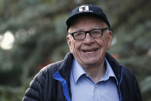 Rupert Murdoch.... (PHOTO RICK WILKING, ARCHIVES REUTERS)