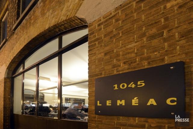 Un choix classique, Le Leméac de l'avenue Laurier.... (Photo Bernard Brault, La Presse)