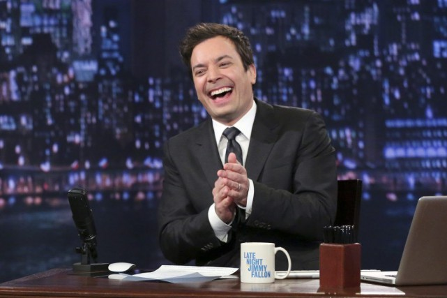 Jimmy Fallon... (PHOTO ARCHIVES AP)