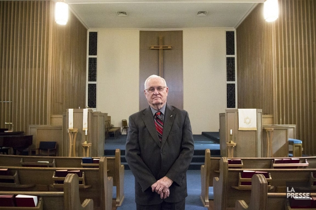 Le révérend Carroll Pickett a accompagné 95 condamnés... (Photo: Ninon Pednault, La Presse)