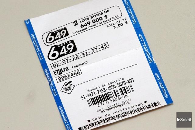 Le magot de 8,5 millions a été remporté... (Photothèque Le Soleil)