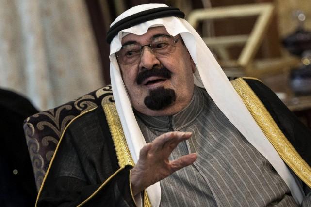 Le roiAbdallah, souverain d'Arabie Saoudite.... (Photo Archives AP)