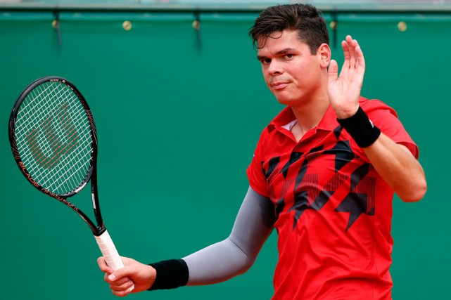 Milos Raonic... (Photo Eric Gaillard, archives Reuters)