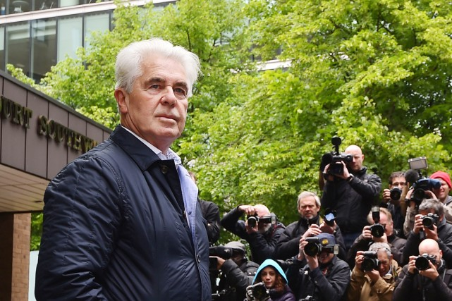 Max Clifford avait été reconnu coupable lundi de... (PHOTO BEN STANSALL, AFP)