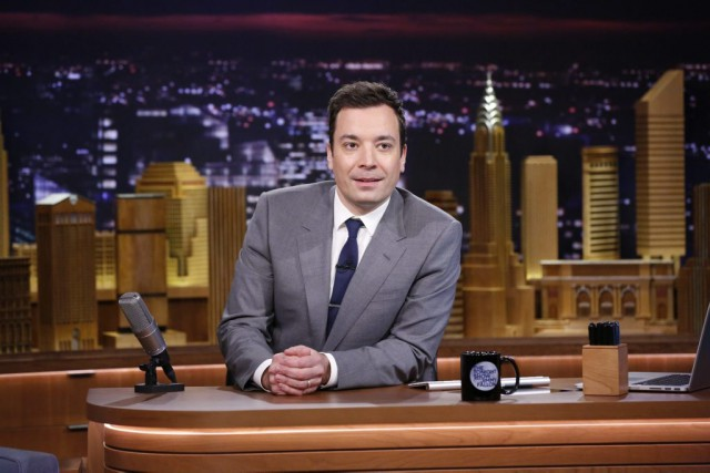 Jimmy Fallon, animateur du Tonight Show.... (Archives, Associated Press)