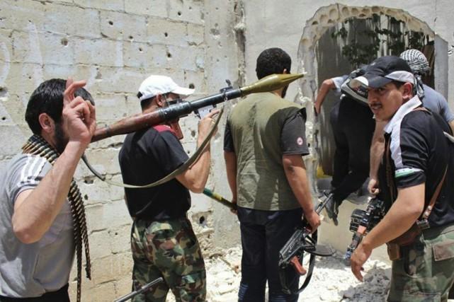 À Homs, troisième ville du pays où une... (PHOTO ARCHIVES AP)