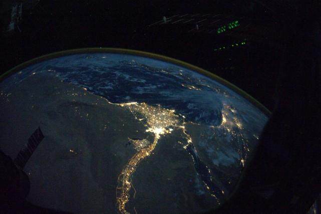 La NASA et le CNES, l'agence spatiale française, ont conclu vendredi un accord... (PHOTO FOURNIE PAR LA NASA)