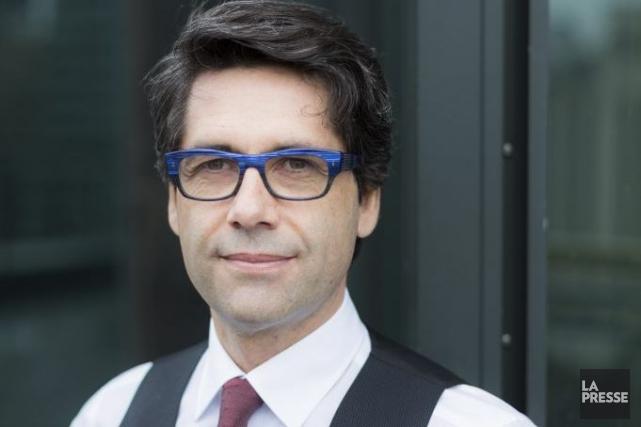 Christian Godin, vice-président principal, chef des actions et... (PHOTO ÉDOUARD PLANTE-FRÉCHETTE, LA PRESSE)