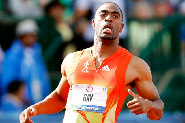 Tyson Gay... (Photo Robert Galbraith, archives Reuters)