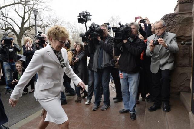 La première ministre Kathleen Wynne proposera un agenda... (Frank Gunn, La Presse Canadienne)
