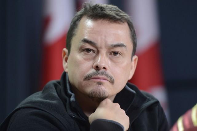 Shawn Atleo a abruptement annoncé sa démission vendredi... (Photo archives La Presse Canadienne)