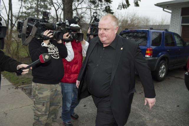 À 45 ans, le maire conservateur de Toronto... (Photo Frank Gunn, La Presse Canadienne)
