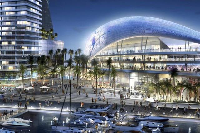 La projection d'un stade à Miami, tel que... (Photo Reuters)