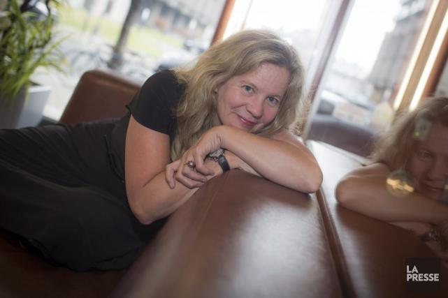 Lisa Moore.... (PHOTO OLIVIER PONTBRIAND LA PRESSE)
