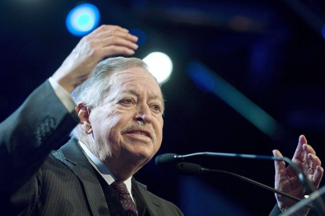 Jacques Parizeau critique le fait qu' «on dépense... (Photo Graham Hughes, archives PC)