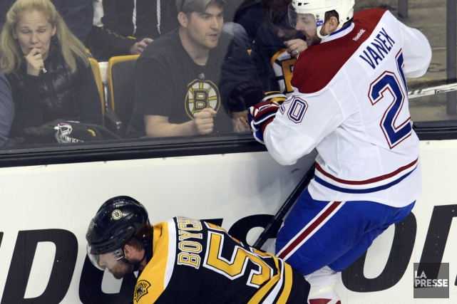 Thomas Vanek a reconnu que son trio n'avait... (Photo Bernard Brault, La Presse)