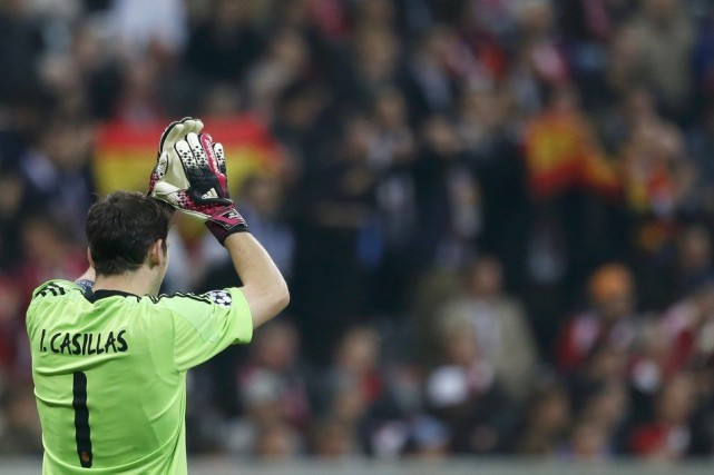Iker Casillas... (PHOTO MICHAELA REHLE, REUTERS)