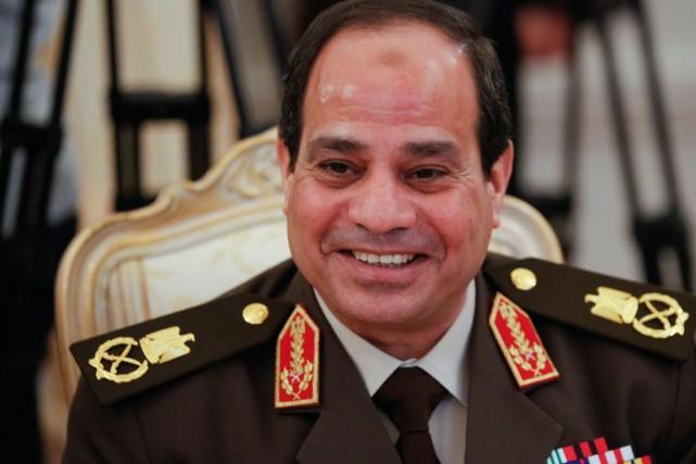 Abdel Fatah al-Sissi, l'ancien chef de l'armée égyptienne.... (PHOTO AGENCE FRANCE PRESSE)