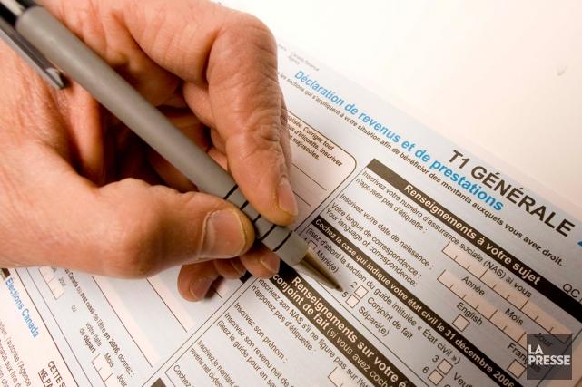 La marge de manoeuvre des contribuables n'ayant pas encore produit leurs... (PHOTO ALAIN ROBERGE, ARCHIVES LA PRESSE)