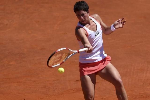 Carla Suarez Navarro... (PHOTO FRANCISCO LEONG, AFP)
