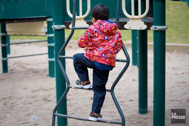 Les enfants qui fréquentent le Centre amis des... (PHOTO ANDRÉ PICHETTE, LA PRESSE)