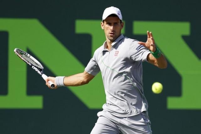 Novak Djokovic... (PHOTO GEOFF BURKE, ARCHIVES USA TODAY)
