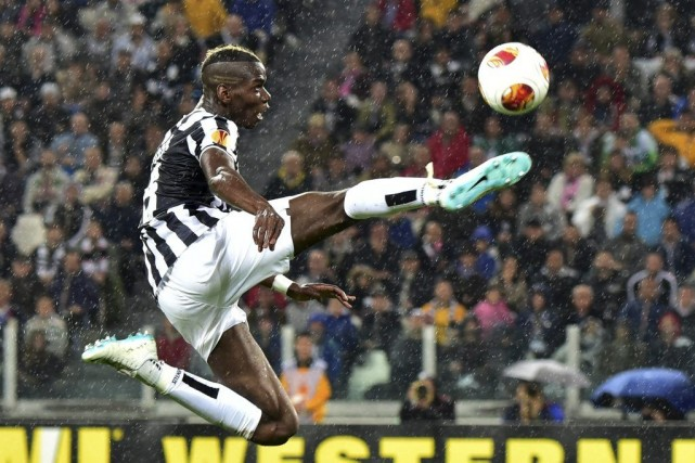 Paul Labile Pogba... (PHOTO GIUSEPPE CACACE, AFP)