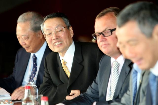 Stan Shih a annoncé qu'il quitterait bientôt ses... (Photo Bradley Kanaris, archives Bloomberg)