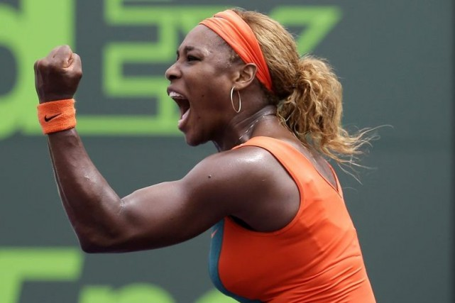 Serena Williams... (PHOTO ARCHIVES ASSOCIATED PRESS)