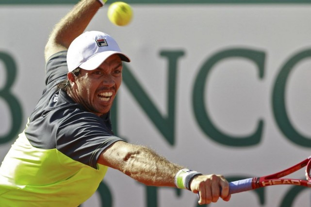Carlos Berlocq... (Photo Jose Manuel Ribeiro, archives Agence France-Presse)