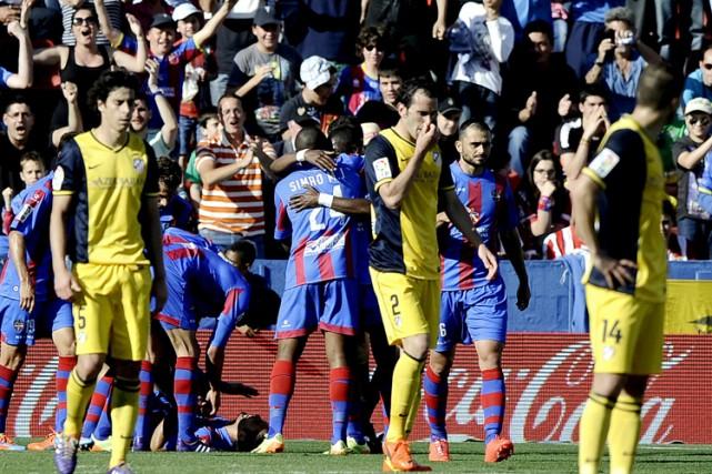 Levante a eu le meilleur surl'Atletico Madrid dimanche.... (Photo: AFP)