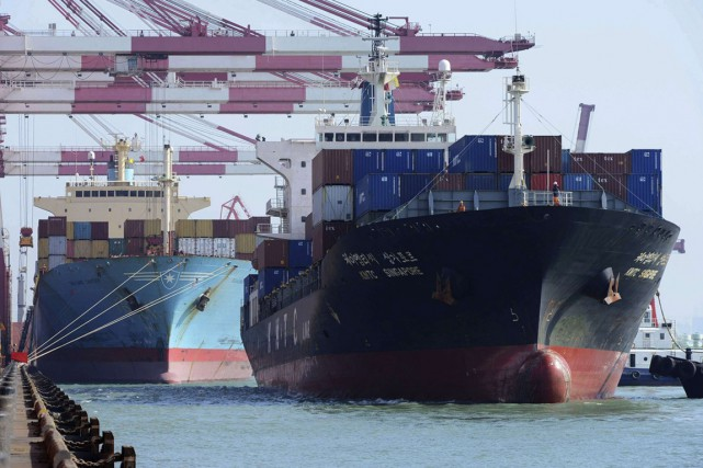 Les exportations ont augmenté pour atteindre 44,8 milliards... (PHOTO ARCHIVES, REUTERS)