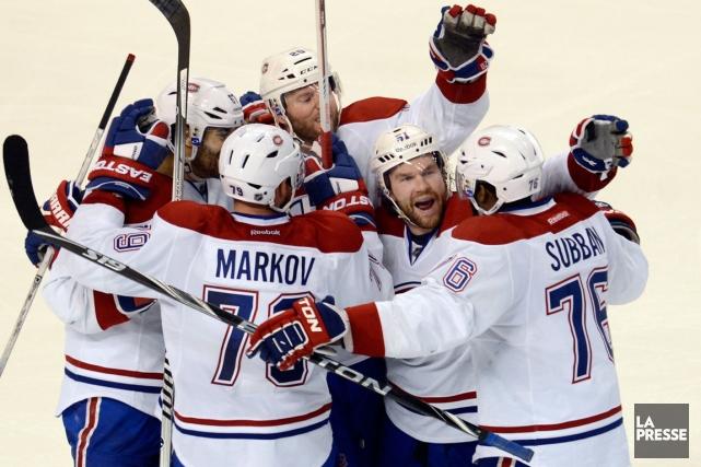 Le Canadien a marqué 5 buts à ses... (Photo Bernard Brault, La Presse)