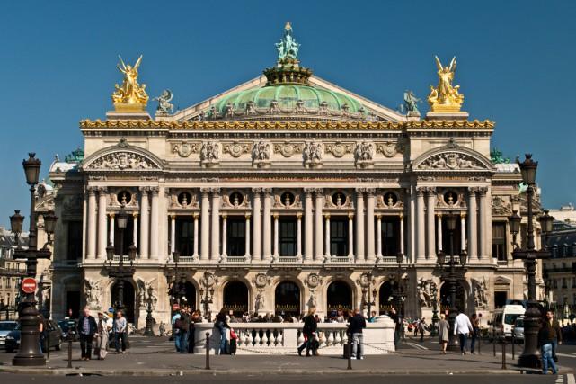 Le célèbre opéra Garnierde Paris.... (Photo archives AFP)
