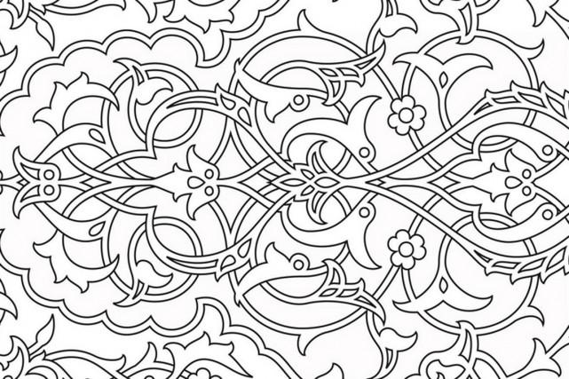 Le coloriage comme arme antistress myriam chaplain riou vivre - Dessin anti stress a imprimer ...